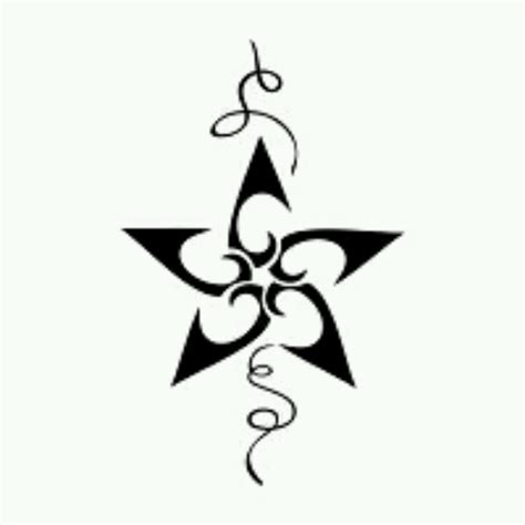 star pattern tattoo designs free and swirls designs free clip