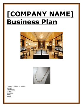 jewelry boutique business plan