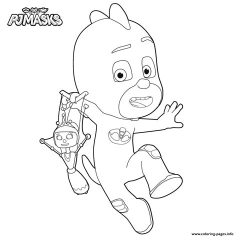 pj masks gecko coloring pages pj mask coloring pictures coloring pages printable
