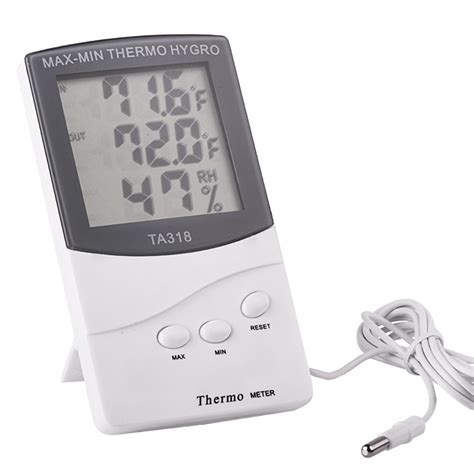 Thermo Hygro Digital lcd max min thermometer hygrometer digital indoor thermo