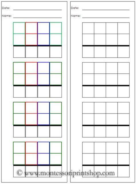 printable montessori checkerboard montessori print shop blog free montessori printable