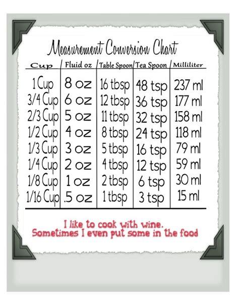 conversion mesure cuisine 17 meilleures id 233 es 224 propos de conversions de mesures de