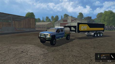 game hd mod 2015 chevy silverado 3500hd car v1 0 farming simulator 2019