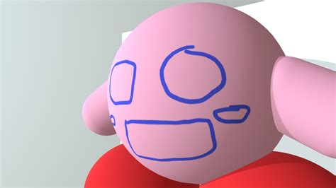 kirby paint     model  consolecarl