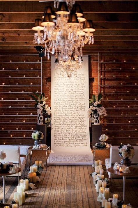 Wedding Backdrop Modern by 20 Awesome Indoor Wedding Ceremony D 233 Coration Ideas