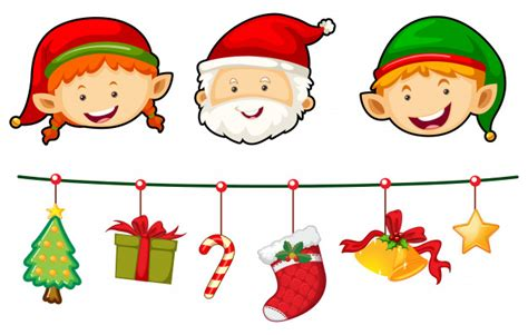 natale clipart gratis natal conjunto papai noel e elfo baixar vetores gr 225 tis