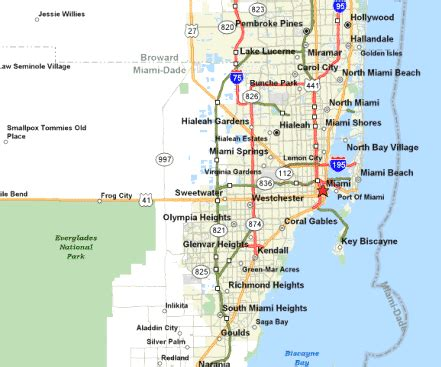 map of florida east coast map3