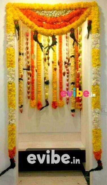 house decoration ideas for housewarming ceremony best housewarming gruhapravesam flower decorations in