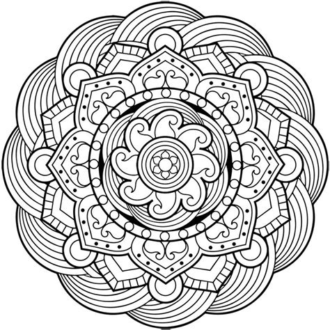 mandala designs coloring book 26 best mandala coloring pages images on