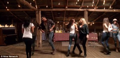 partners swinging the bachelor sam wood dances with seven women during