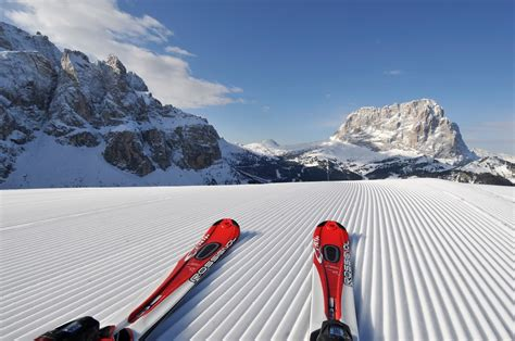 now you can ski in val gardena valgardena it