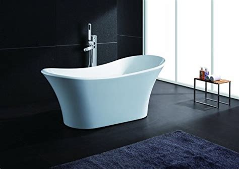 freestand bathtub akdy white freestand acrylic bathtub