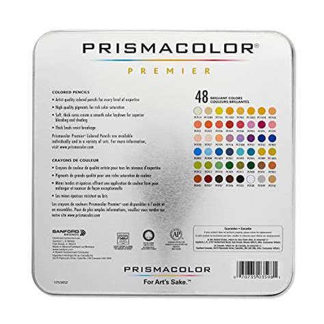 prismacolor premier colored pencils 48 prismacolor premier colored pencils 48 assorted color