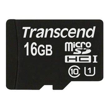 Transcend Micro Sdhc 16 Gb Class 10 transcend microsdhc karte uhs 1 class 10 16gb