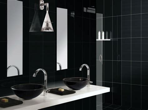 bathroom in black black in bathroom there s no harm in trying new home scenery
