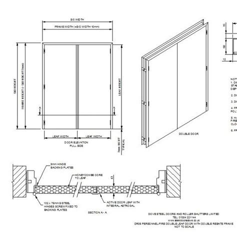 porte dwg pianta leaf door cad drawing cad blocks free