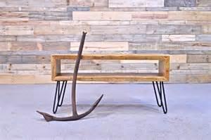 large antique cast iron anchor vintage nautical decor