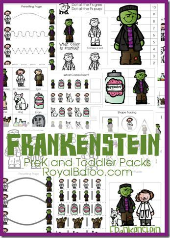 themes in frankenstein worksheet 419 best prek theme packs images on pinterest preschool