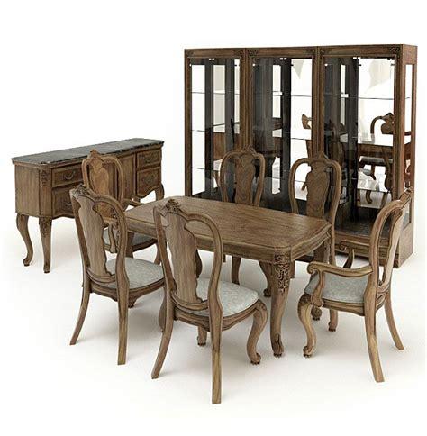 american furnitures set 5 am65 archmodels 3ds fbx max