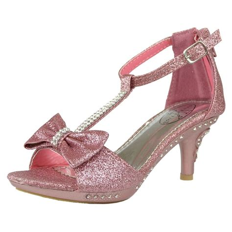 Heels Chelsea Bow Sandals by S T Rhinestone Glitter High Heel Dress Sandals