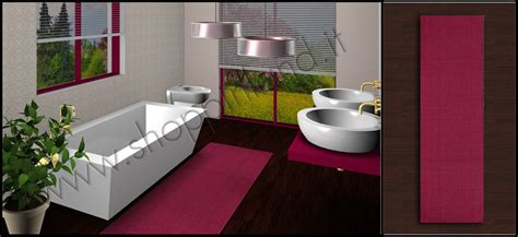 tappeti per il bagno on line tappeti bamboo on line a prezzi outlet tappeti bagno on