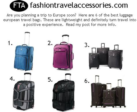 Top 10 Cruise Bags For 2008 by Best Luggage European Travel Bags Best Lightweight
