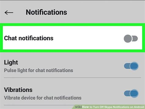 turn email notifications android how to turn skype notifications on android 12 steps