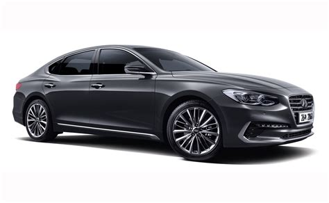 2018 hyundai azera 2018 hyundai azera revealed with handsome new look