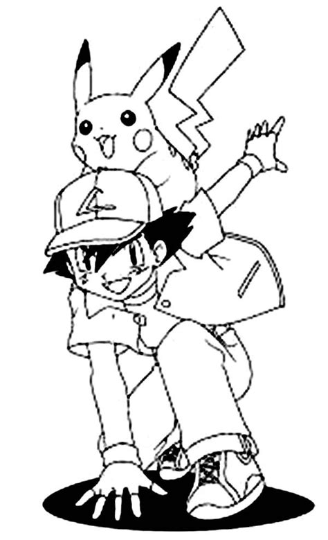 Coloring Pages Of Ash