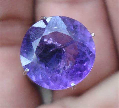 Batu Akik Flourite Ungu Iga063 terjual kecubung ungu batu permata batu mulia akik