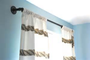 Industrial Style Curtains Hometalk Finding Style In The Plumbing Aisle Industrial Pipe Curtain Rods