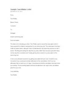 Cancellation Letter For University Cancellation Letter Hashdoc