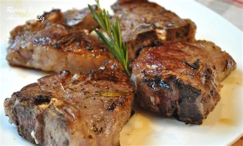 How To Cook L Chops by Grilled Chops With Garlic Lemon Wine And Herbs 2