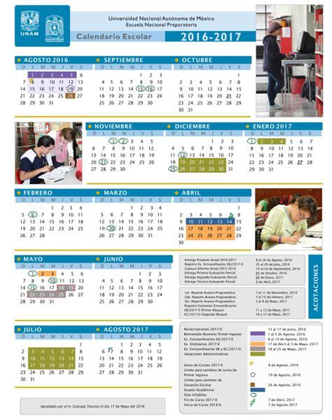 calendarios escolares 2016 2017 escolar mx