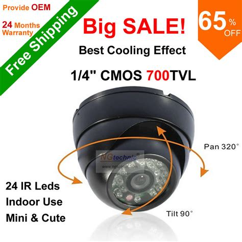 Promo Cmos Indoor 700tvl Murah free shipping big sale new arrival abs plastic 700tvl with cmos 24ir vision color ir