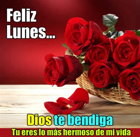 imagenes de buenos dias es lunes imagenes con canasta de rosas musicadelrecuerdo org