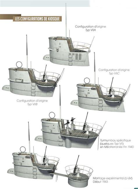 german u boats ww2 types german u boats by different conning bridge tower design