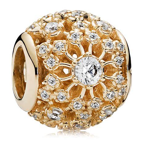 Charm Gold pandora gold charms