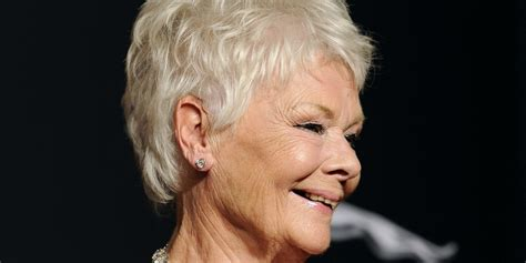 show back of judy dench hairstyle yep judi dench considered getting a tattoo for her 80th