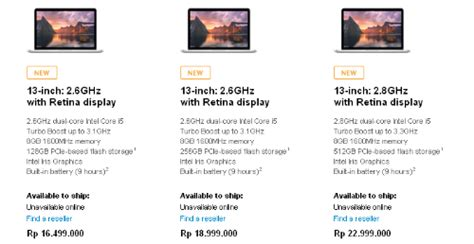 Macbook Terbaru Juli apple pangkas harga macbook pro jeripurba