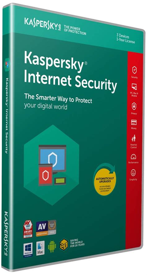 Security Kaspersky 2018 kaspersky security 2018 3 devices 1 year pc mac