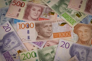 currency sek swedish krona