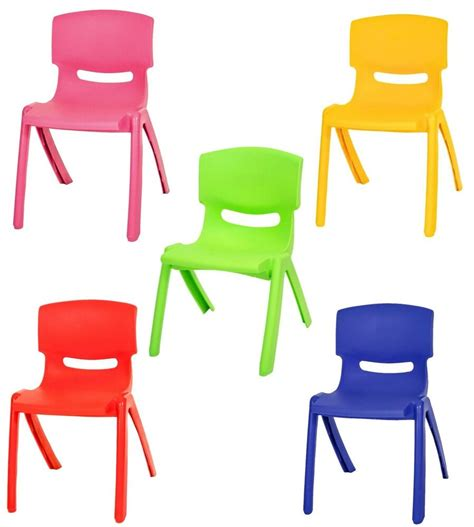 Toddler Plastic Chair - stackable children plastic chair home picnic up