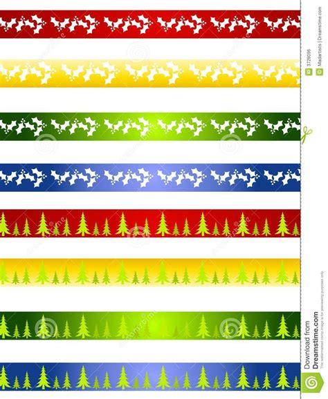 clipart bordi bordi o divisori decorativi di natale illustrazione di