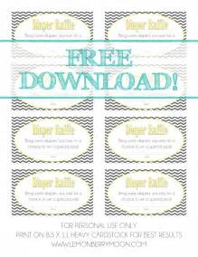 free printable baby shower raffle tickets template free printable raffle ticket template