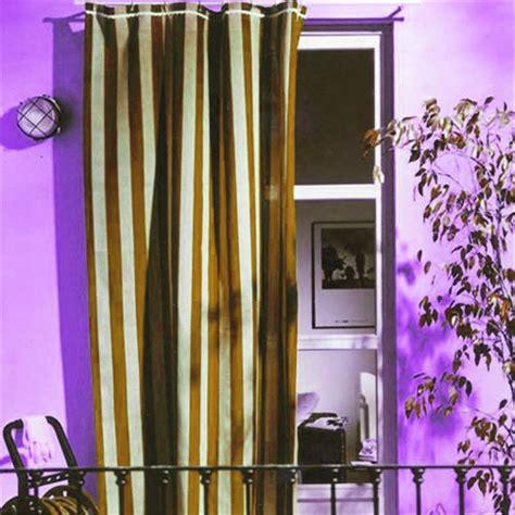 tenda da sole per balcone prezzi tenda da sole cotone cm 140x250 marrone beige per balcone