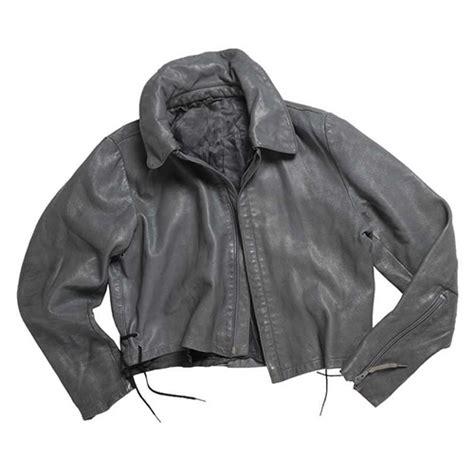 german u boat leather jacket german navy submarine grey leather jacket used
