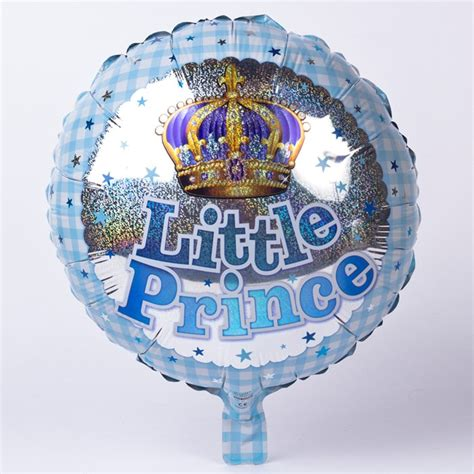 Balon Foil New Prince Blue Prince Foil Helium Balloon Only 163 2 49
