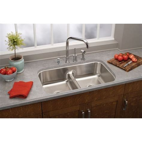 rustic kitchen set with double bowls stainless steel kitchen sink 250 a costco elkay stainless steel undermount double