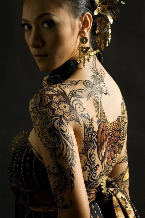female tattoo artist jakarta daydaily 187 blog archive 187 batik art another cultures from